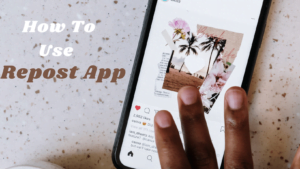 how to use repost app